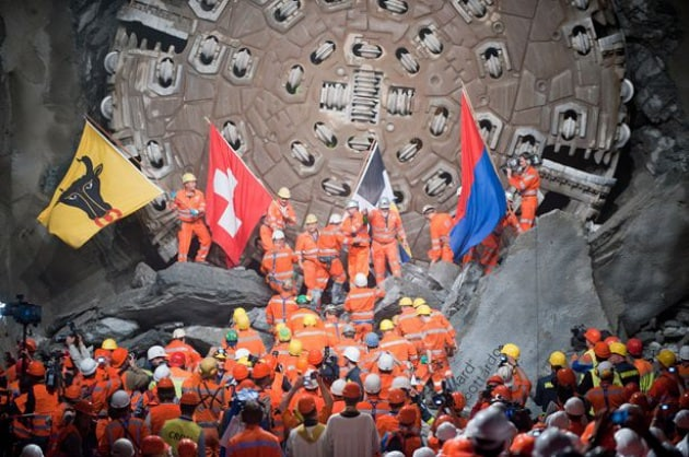 La storia del Tunnel del San Gottardo