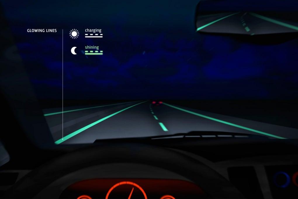 La strada sicura che parla agli automobilisti