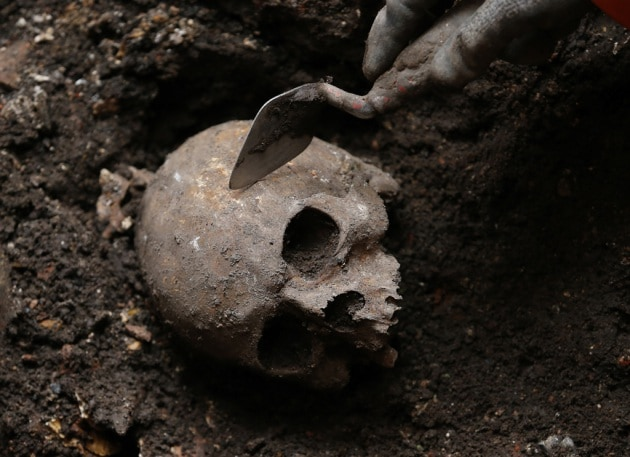 20 teschi di epoca romana in un antico fiume di Londra