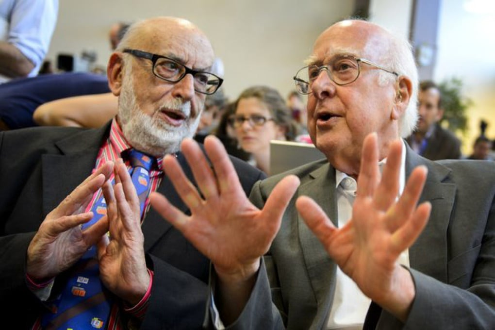 Il Nobel per la Fisica 2013 a Peter Higgs e François Englert
