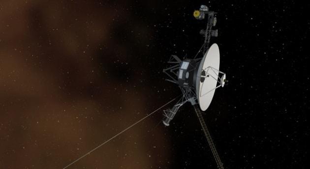 Voyager 1 in balia degli tsunami solari