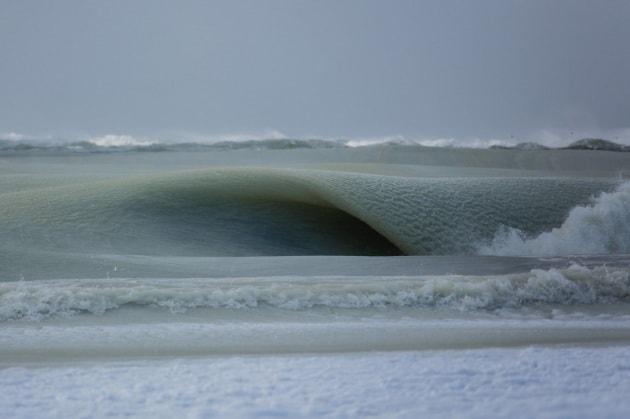 Nantucket, onde marine congelate e silenziose