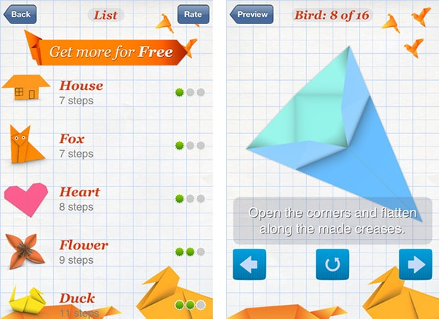 Origami Ooh La La Free Download