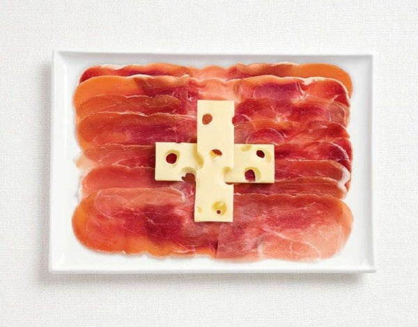13switzerland-flag-made-from-food