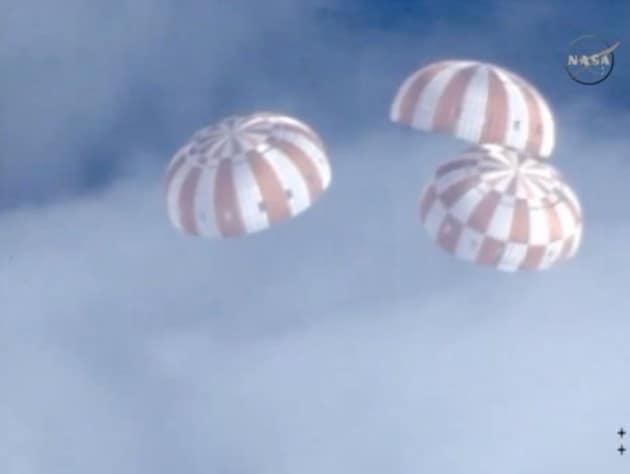 Orion: la prima missione è stata un successo
