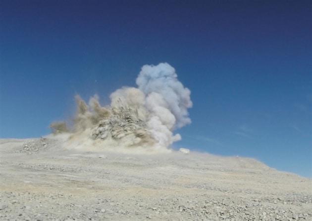 Cile, la montagna esplode per far posto al telescopio E-ELT