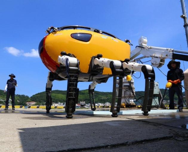 Il granchio robot per le esplorazioni sottomarine