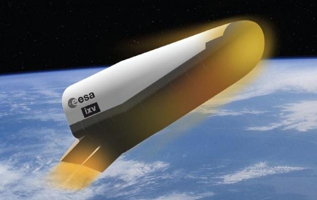 Lo spazioplano europeo IXV pronto al lancio!