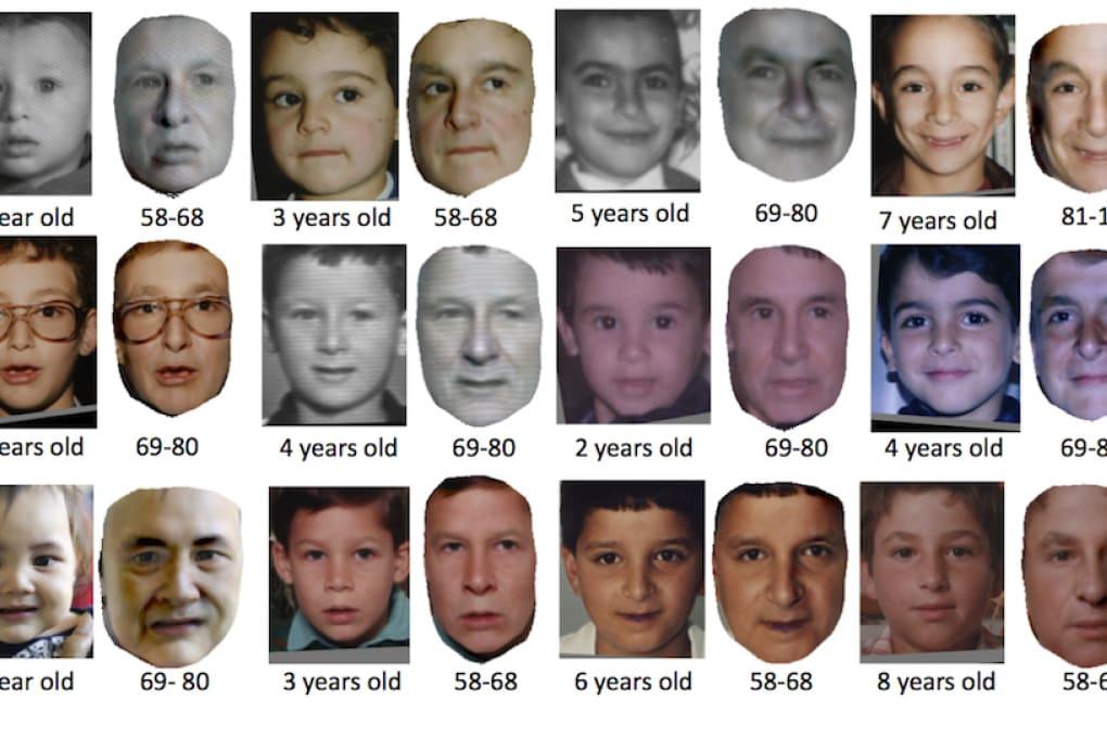 Il volto di tuo figlio fra 70 anni? Te lo svela un software