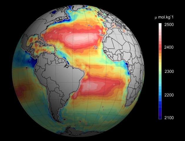 La salute degli oceani si vede dallo Spazio