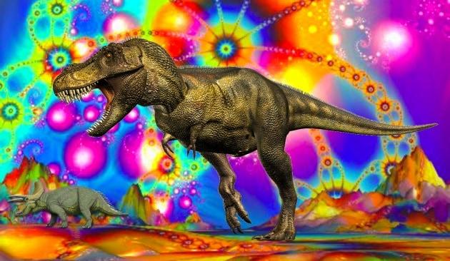 I dinosauri si facevano di LSD?