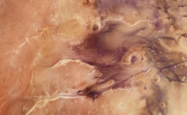 A volo d'angelo su Marte insieme a Mars Express
