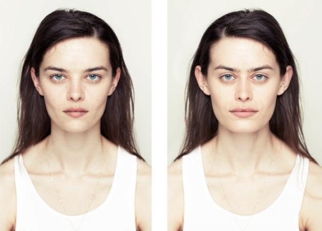 Come sarebbero le nostre facce, se fossero perfettamente simmetriche