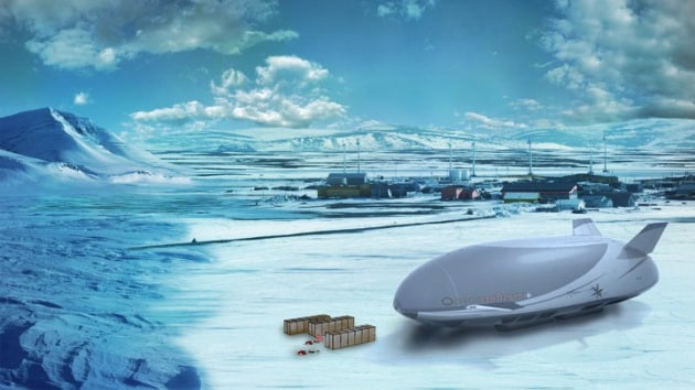 Dirigibili: il futuro del trasporto pesante