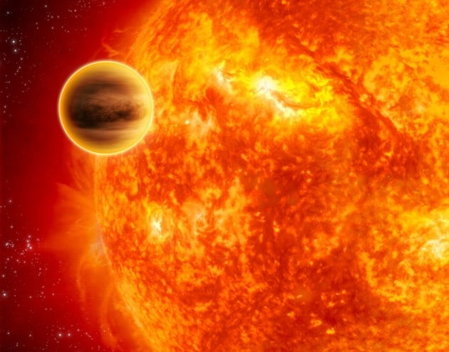 Pianeti senza acqua studiati da Hubble