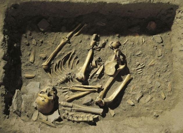 Neanderthal La Chapelle Aux Saints Il funerale dei Neande...
