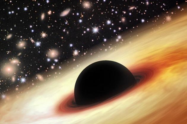 Un mostruoso buco nero ai primordi dell'Universo
