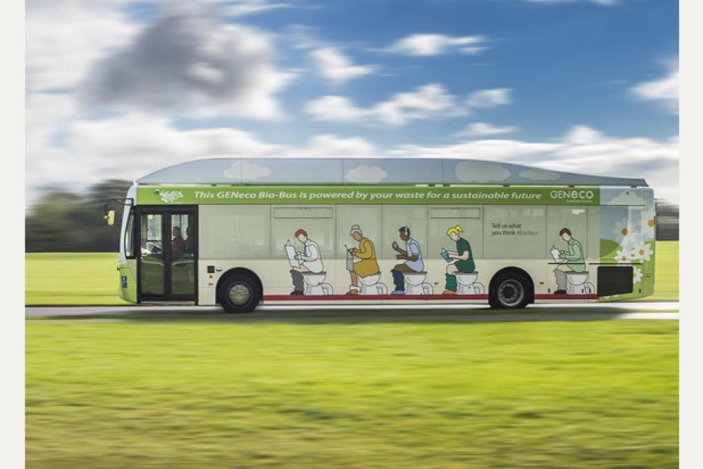 Il bus che va a... cacca. Ovvero biocarburante verde dalla toilette