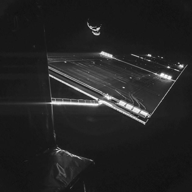 Rosetta, Philae e il selfie con la cometa