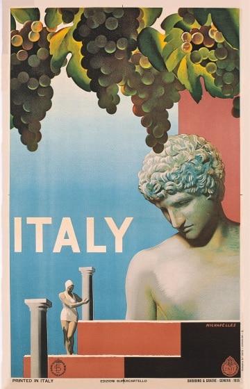 Le pubblicità turistiche di una volta