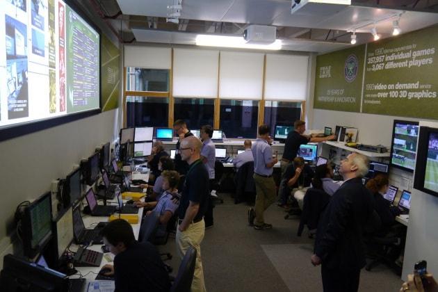 Wimbledon e il supercomputer che controlla i tennisti