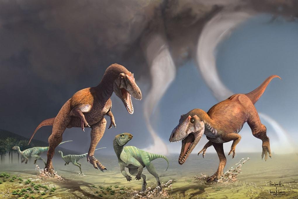 Il nuovo dinosauro con le zampe corte da T. rex