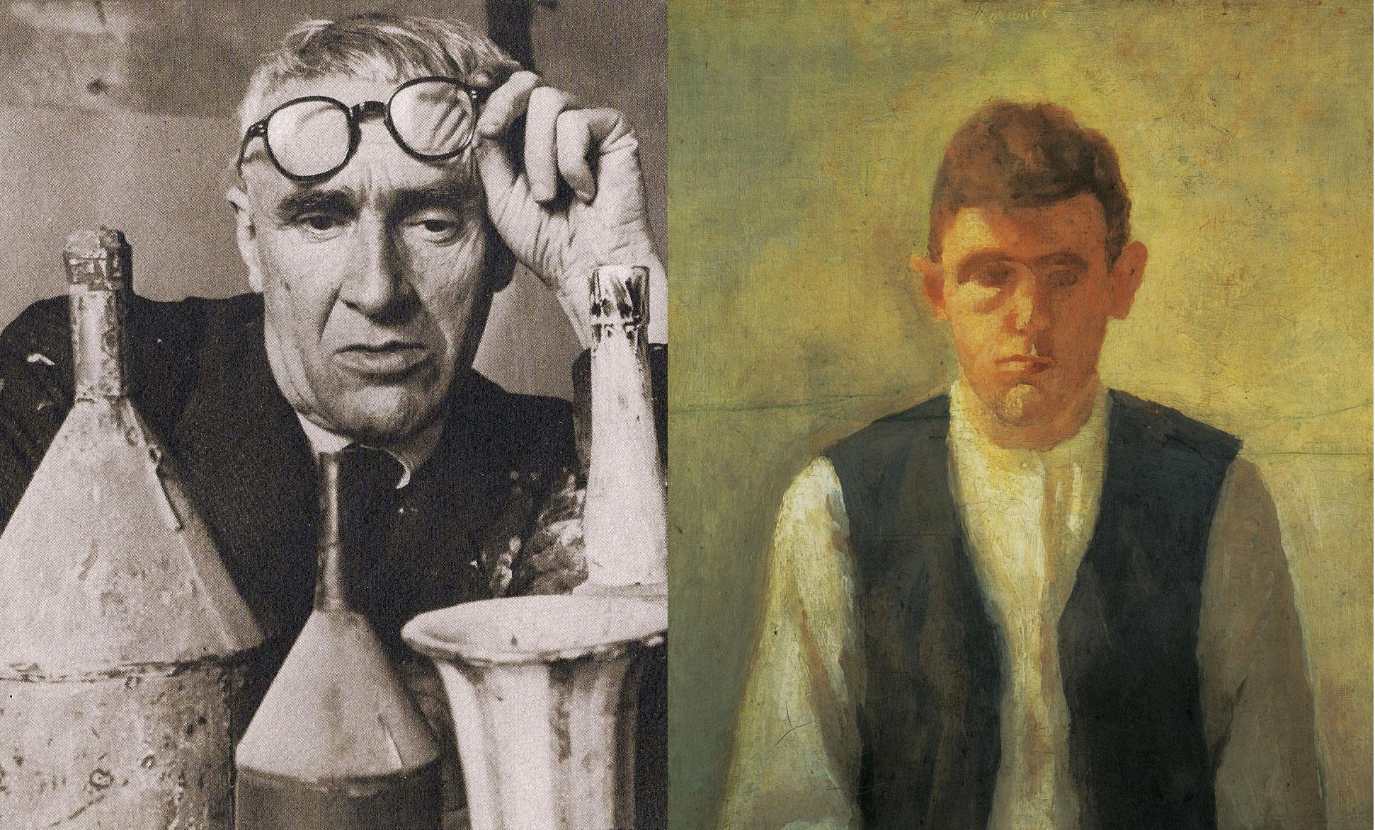 Giorgio morandi un pittore fuori dagli schemi focus giorgio morandi a sinistra in una delle rare foto scattata dal fotografo dellagenzia magnum herbert list nel 1953 a destra in un altrettanto raro thecheapjerseys Gallery