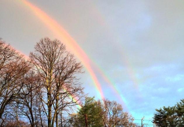 L'arcobaleno quadruplo: vero o falso?