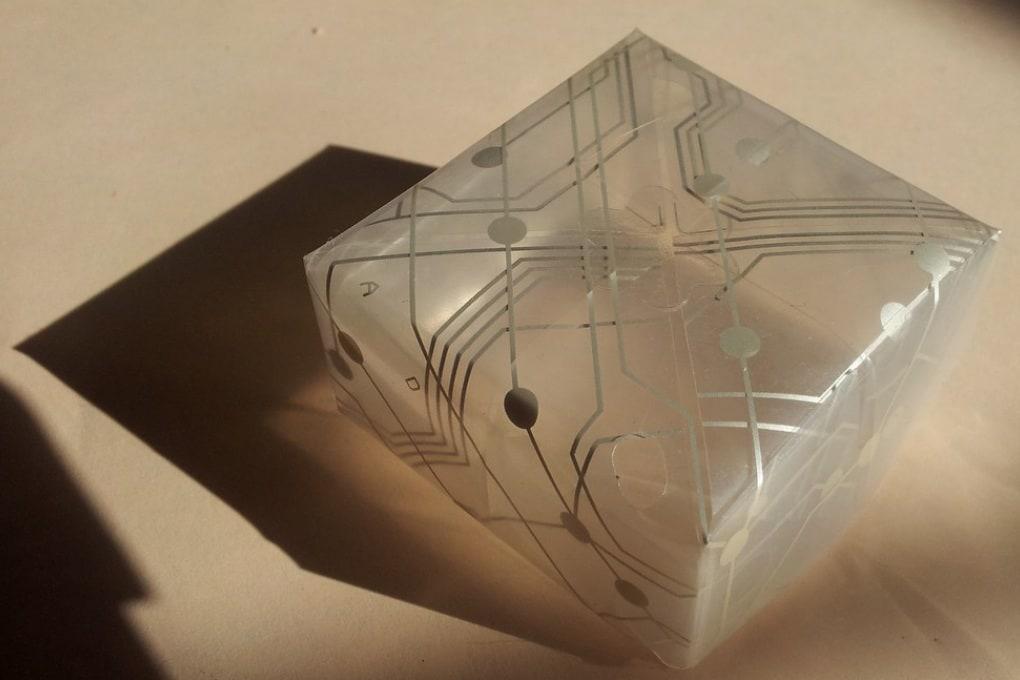 Origami al grafene per nano-circuiti