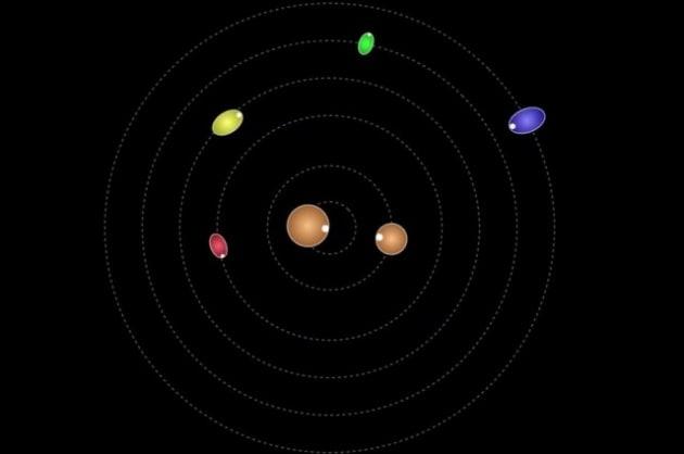 Le lune di Plutone ruotano come trottole