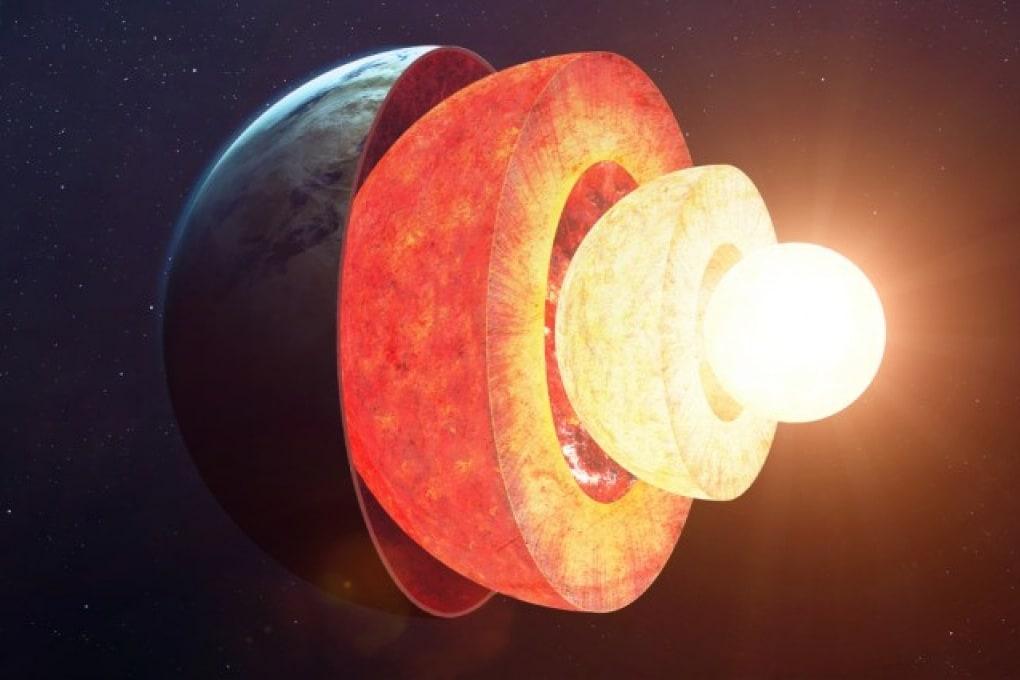 È stato ricalcolato lo spessore della parte solida della Terra
