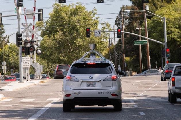 Gli incidenti delle Google Car