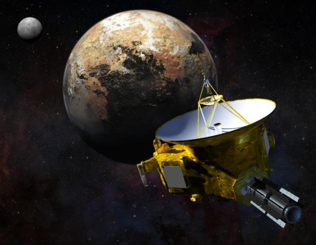 La sonda New Horizons a un passo da Plutone