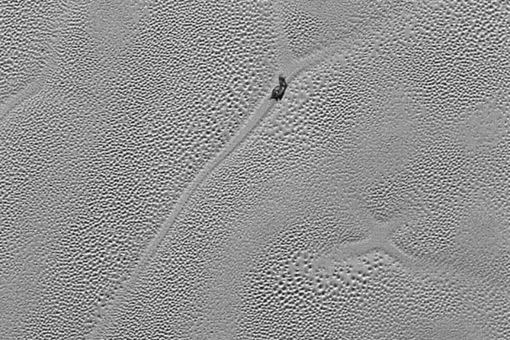 Ghiaccio bollente su Plutone