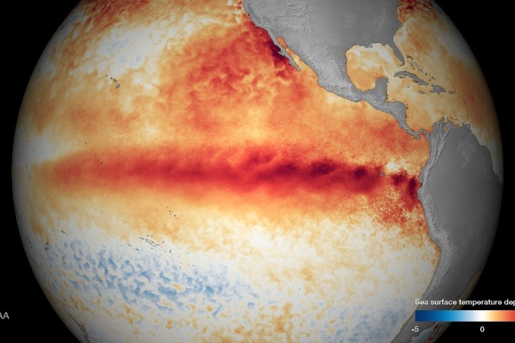 Il 2016 sarà più caldo del 2015 (per colpa di El Niño)