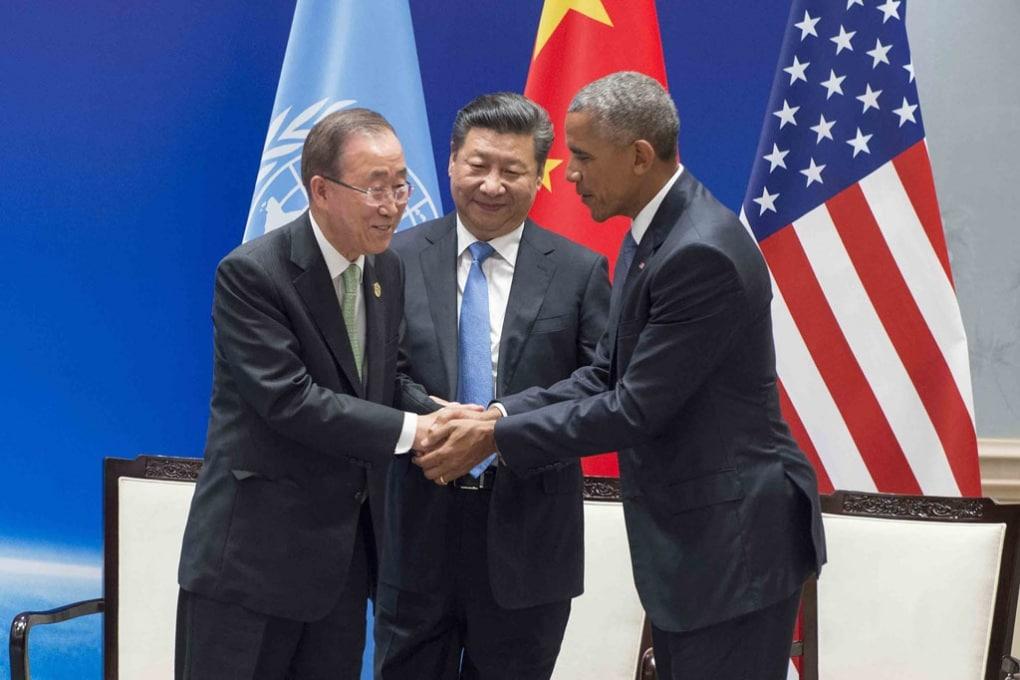 Usa, Cina e la firma dell'accordo sul clima di Parigi