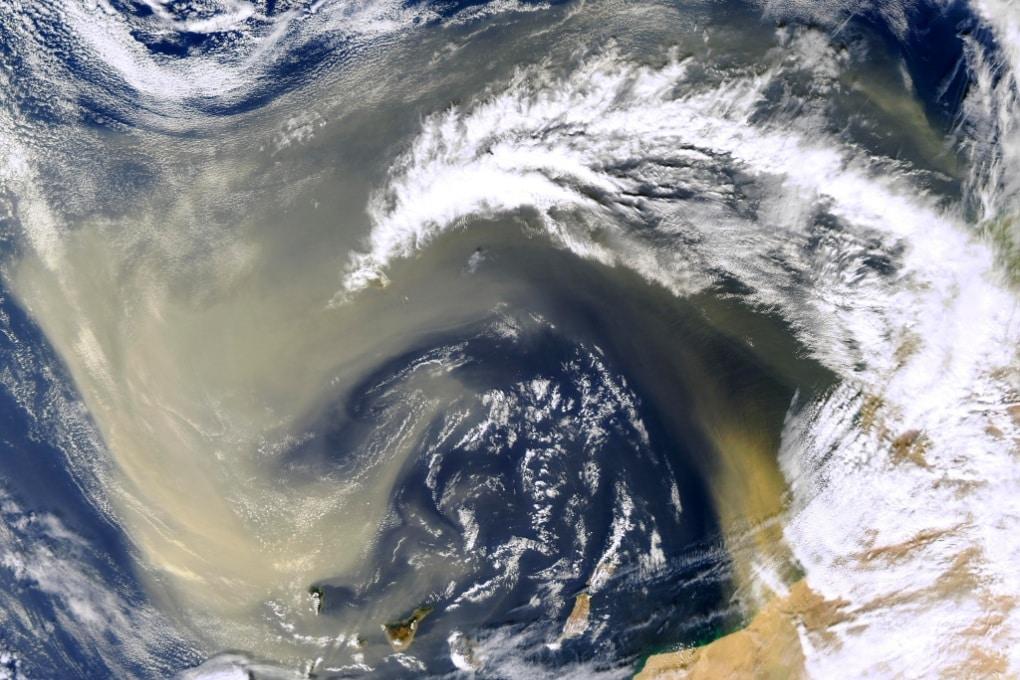 L'elettricità statica alimenta le tempeste di sabbia