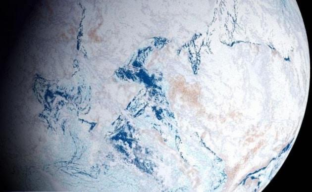 La Terra palla di neve