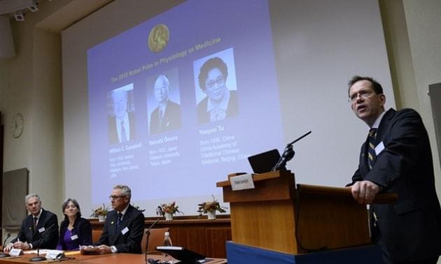 Nobel per la Medicina 2015, i vincitori