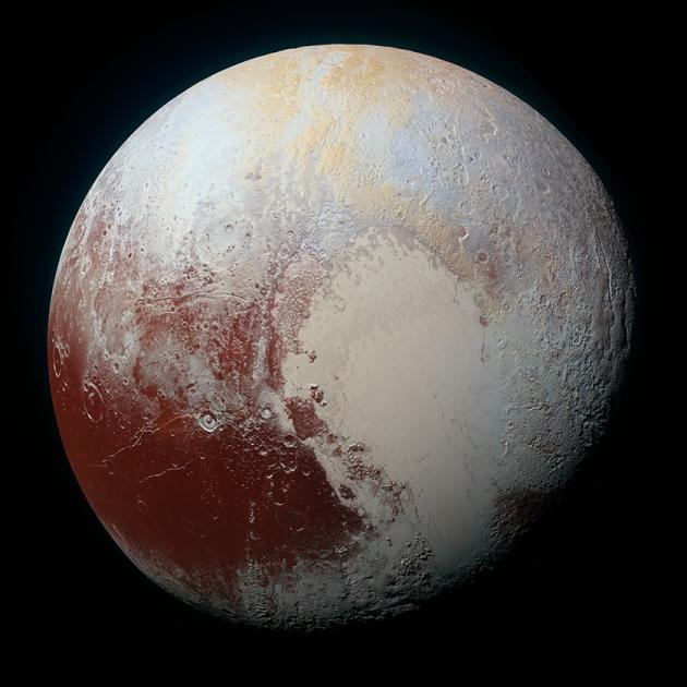 Le nuove foto in HD di Plutone
