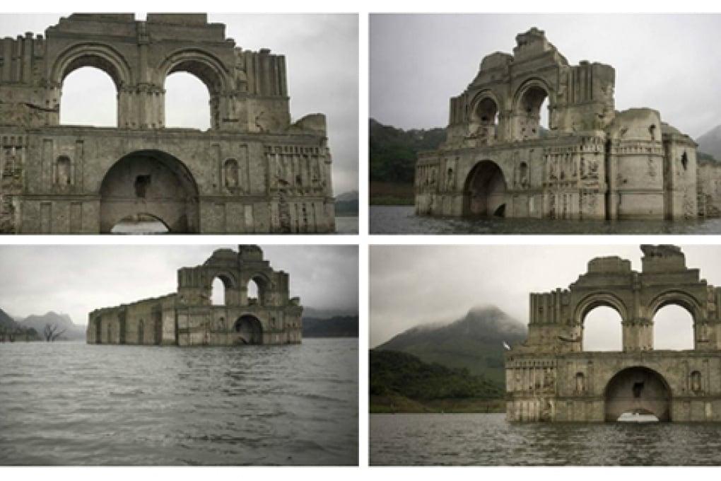 Messico, la chiesa del sedicesimo secolo riemerge dall'acqua