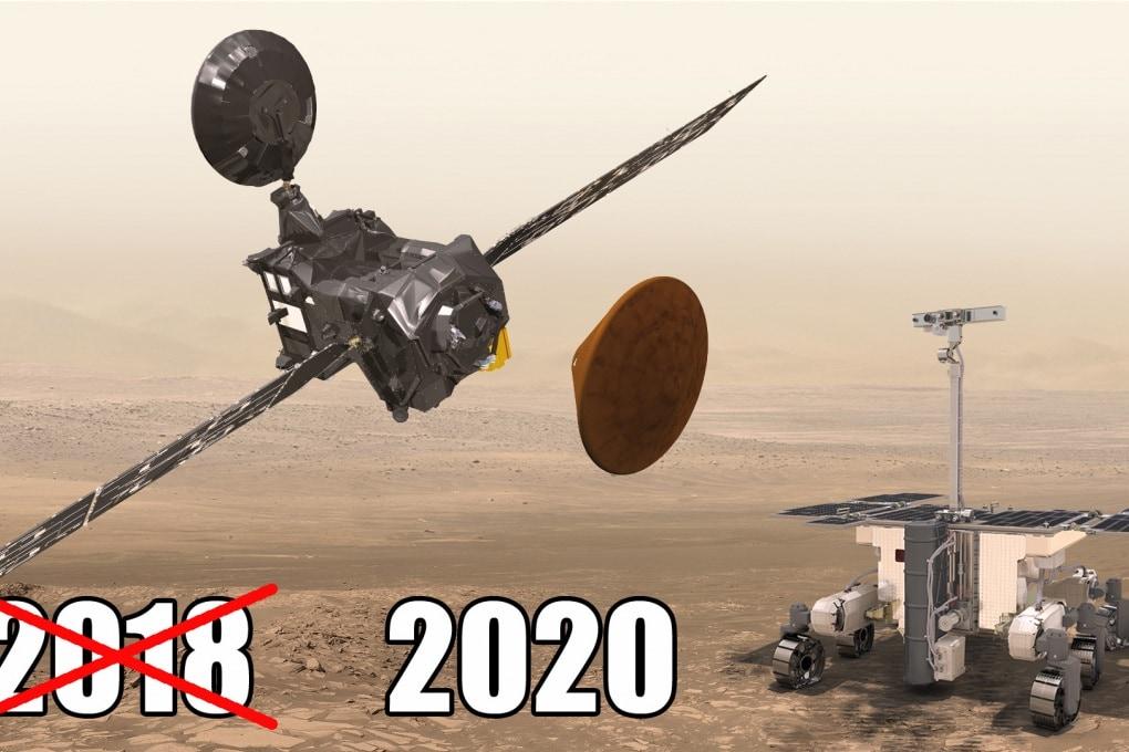 ExoMars 2 slitta al 2020