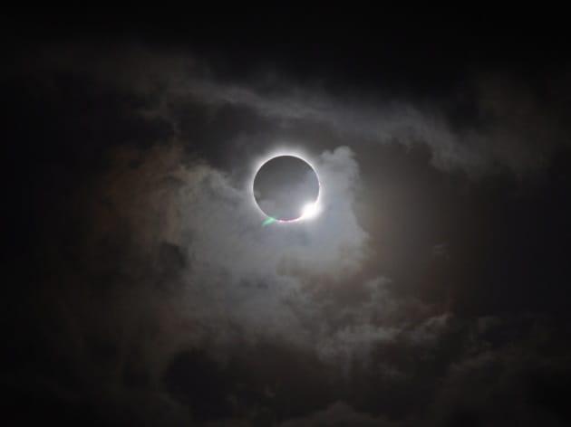 L'eclissi di Sole che finisce prima di cominciare