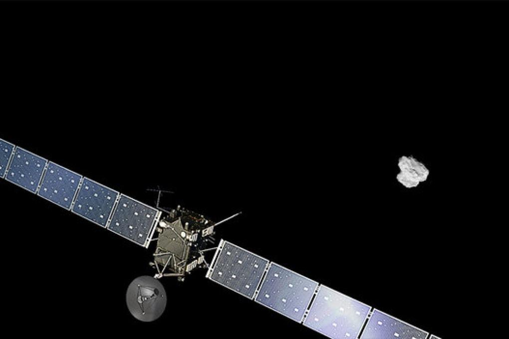 Anche Rosetta scende sulla cometa, nel 2016