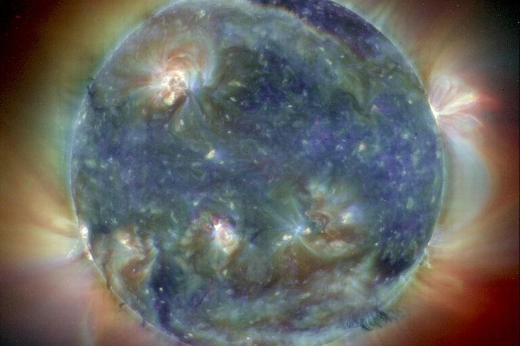 I raggi gamma solari si comportano in modo strano