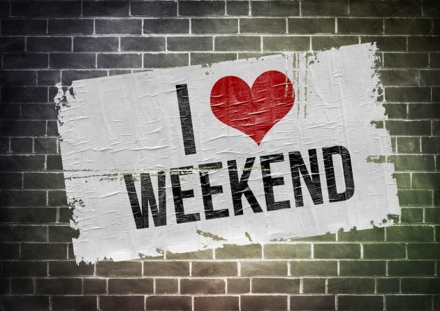 Perché il weekend dura due giorni?