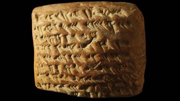I calcoli geometrici degli astronomi Babilonesi