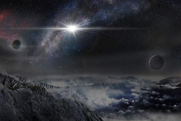 La supernova monstre che brilla come 570 miliardi di Soli