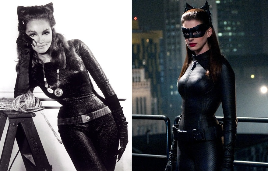 catwoman1966and2012