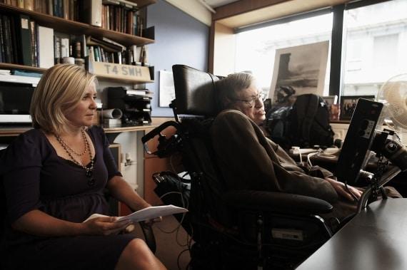 Stephen e Lucy Hawking